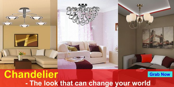 Decorate your home with the best Designer Chandeliers from Tisva by Usha @ http://tinyurl.com/zntnndk