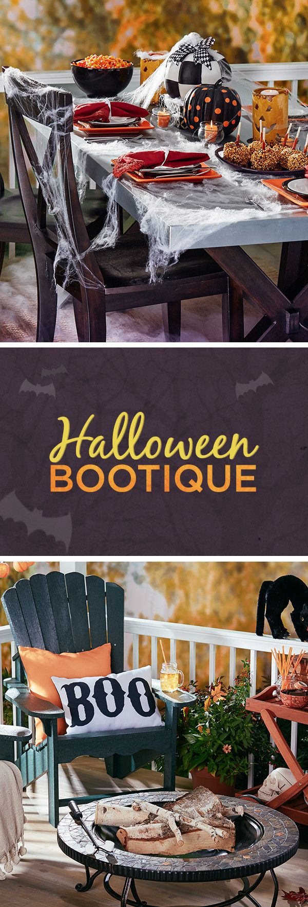 Create creepy curb appeal with this selection of outdoor updates. Festive lights welcome trick-or-treaters in style, while lanterns add ambiance to your backyard hangout. Visit Wayfair and sign up today to get access to exclusive deals everyday up to 70% off. Free shipping on all orders over $49. Halloween sale ends 10/31/15.