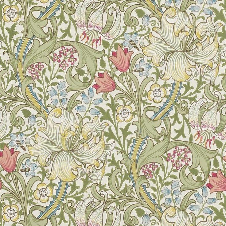 Engelska Tapetmagasinet - tapeter - William Morris - Golden Lily - tapet