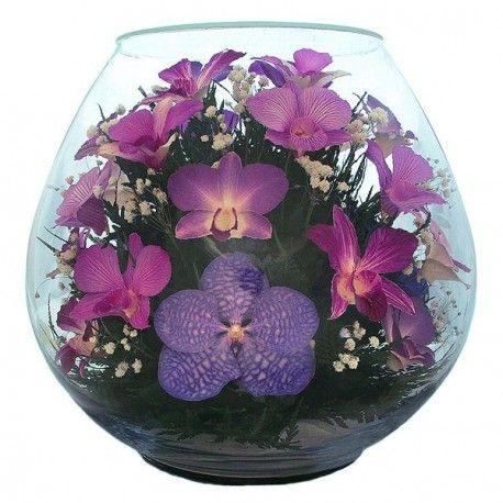01_2 Цветы в стекле! ~ вакуум*~