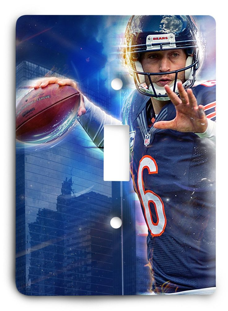 Jake Cutler Chicago Bears QB Light Switch Cover