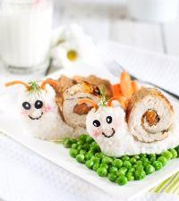 Rulada de carne pentru copii  | Qbebe.ro