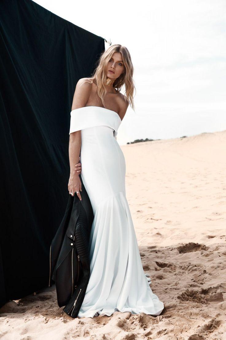 Modern dress advantages - Modern Off The Shoulder Wedding Dress By One Day Bridal