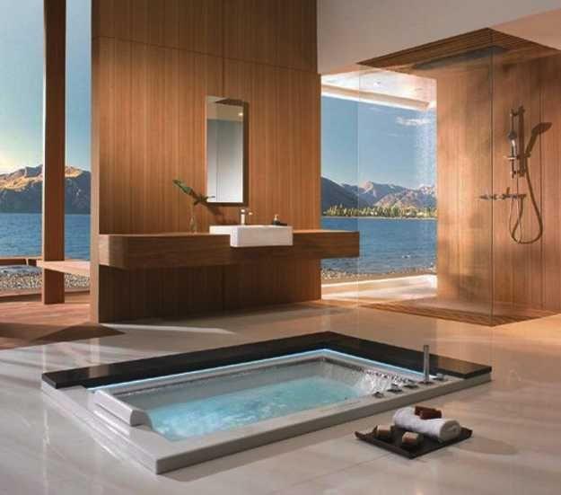 96 besten pools baths spa 39 s bilder auf pinterest innenarchitektur schwimmb der und arquitetura. Black Bedroom Furniture Sets. Home Design Ideas