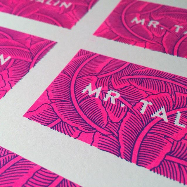 Working on some new business cards. Weird. #risograph #print #VSCOcam