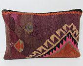 16x24 kilim pillow bohemian pillow case country pillow cover floor rug pillow tribal fabric outdoor throw pillow turkish rug lumbars 25040