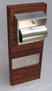 Timber deck screen letterbox