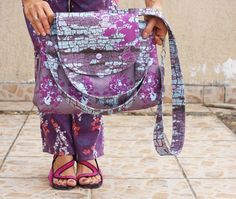 Spoonflower Birdy Bag Free Pattern and Tutorial