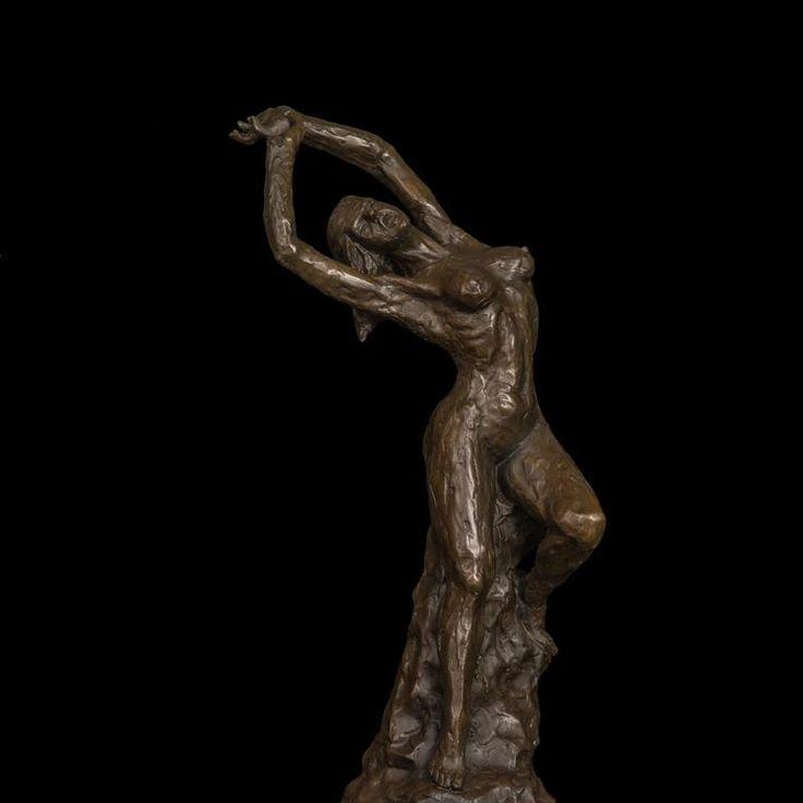 Morning Stretch Rustic Female Nude