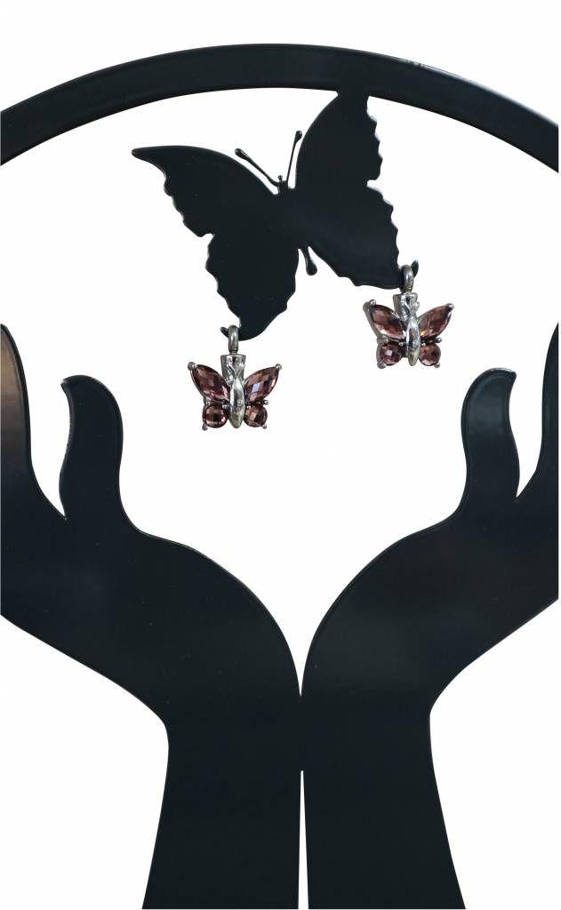 Dit Pracht Herinneringhouder Handen (witte voet)