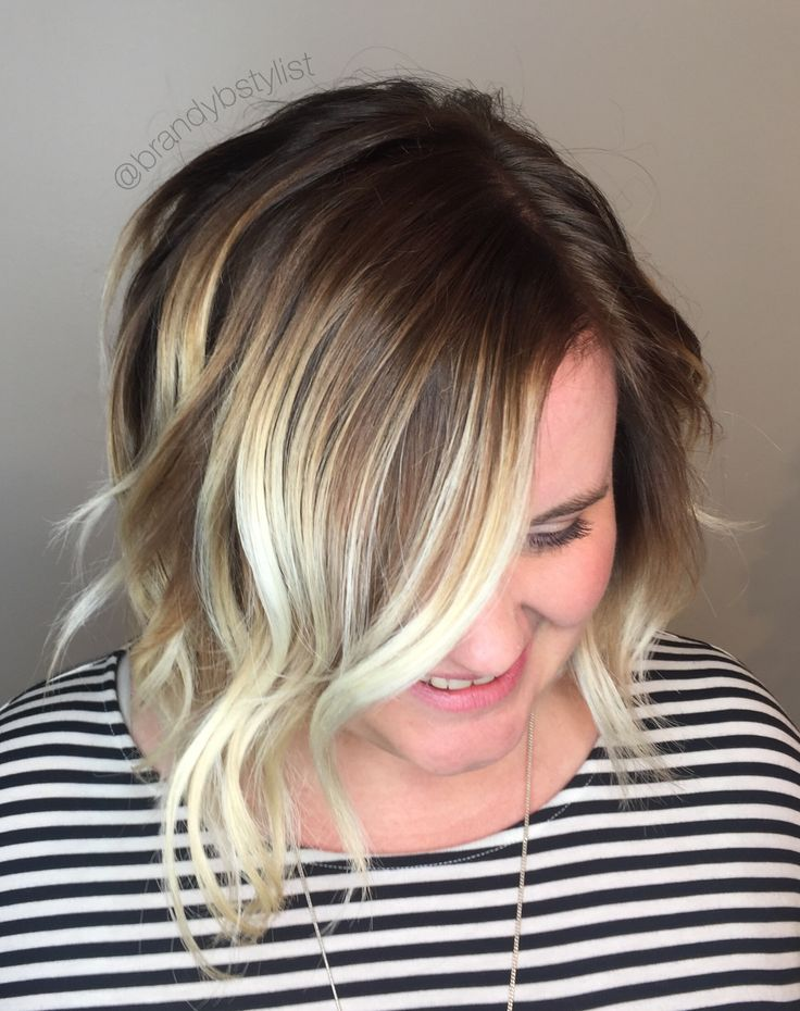 Blonde Balayage Blonde Hair Color Shadow Root Lowlight
