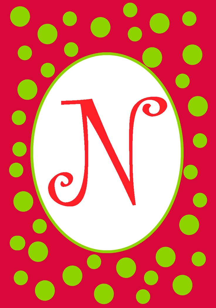 323 best letter n images on pinterest letter n for Letter n decorations