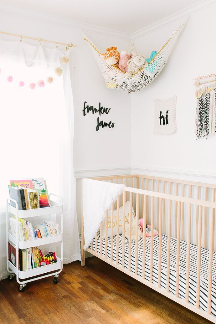 gender neutral nursery decorations design white and wood