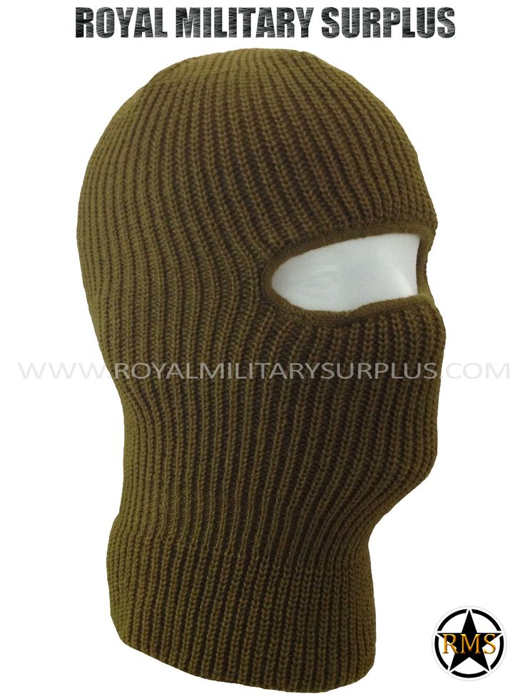 This BROWN Tactical Military Balaclava / Hood is in use by Canadian Forces. Made following Military Specifications (1 Hole Face Mask). All items are brand new and available. In use by Army, Military, Police and Special Forces of International Forces. Visit our Website at www.royalmilitarysurplus.com