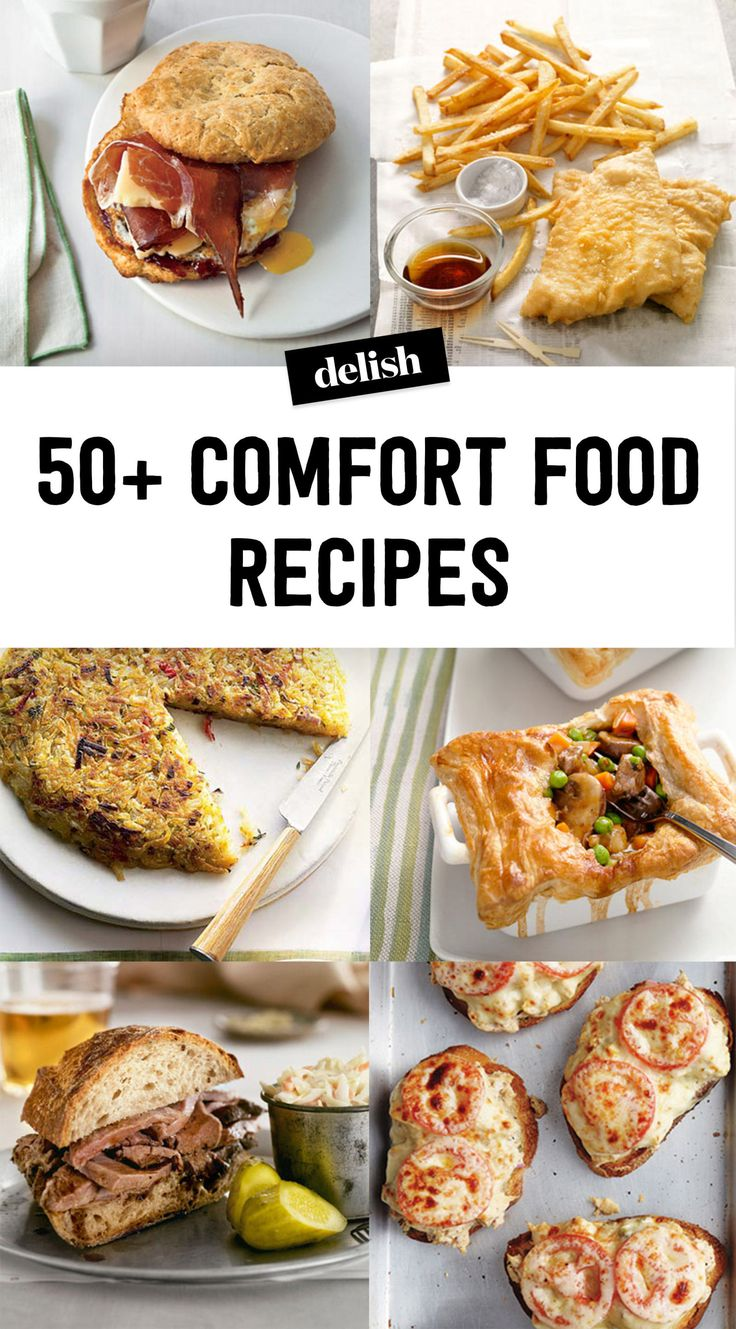 The 87 Most Delish & Healthy Comfort Foods