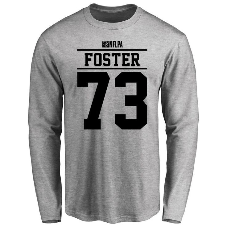 Ramon Foster Player Issued Long Sleeve T-Shirt - Ash