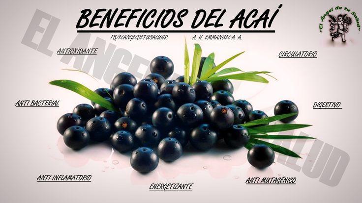 #BENEFICIOS #SALUD #PLANTASMEDICINALES #ACAI