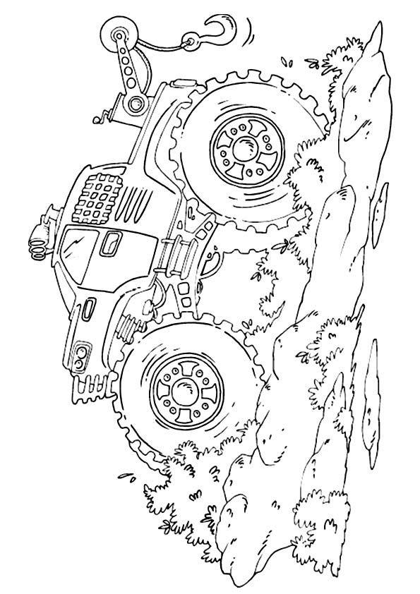 Print Coloring Image Momjunction Monster Truck Coloring Pages Coloring Pages Truck Coloring Pages
