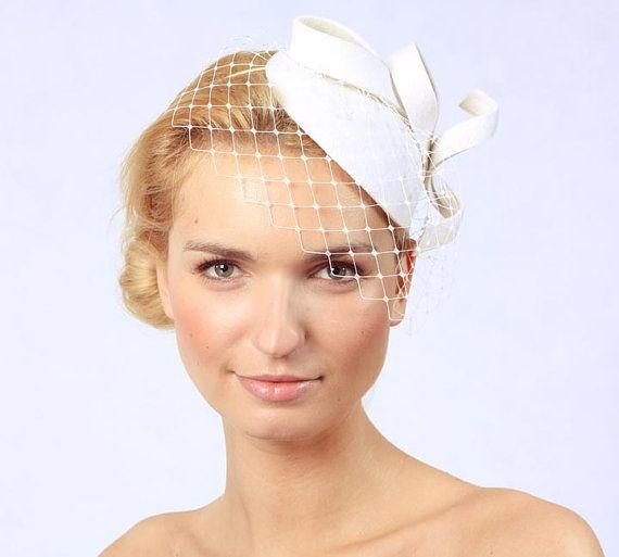 Bridal Hair AccessoriesFelt Mini by KasiaGirtler on Etsy, $63.00