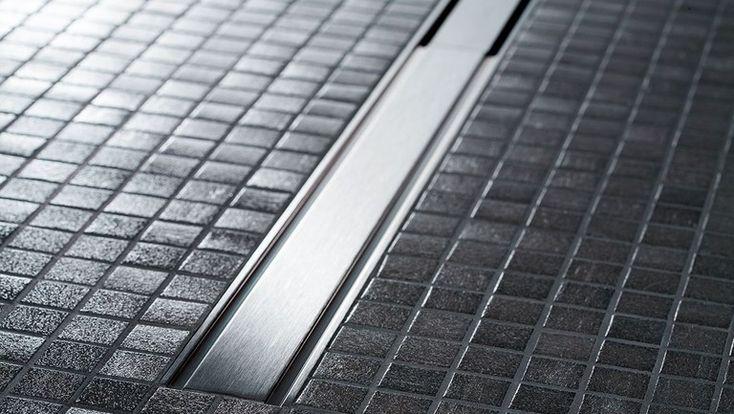 Geberit CleanLine golvränna av rostfritt stål