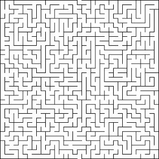Free printable Word Search and Sudokus: Maze 10
