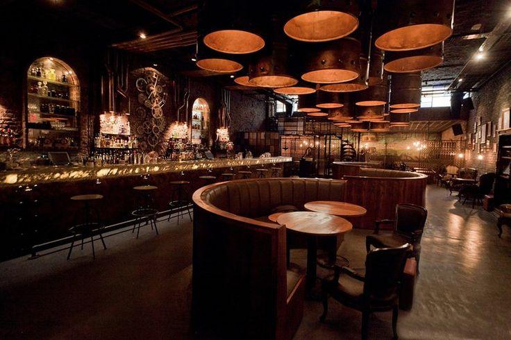 Victoria Brown Bar Restaurant, Buenos Aires, 2013 - Hitzig Militello Arquitectos