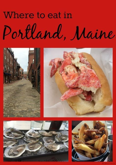 Where to eat in Portland Maine -- some of our favorite restaurants from the many trips we've made to Portland including Duckfat, Eventide, Holy Donut and more.