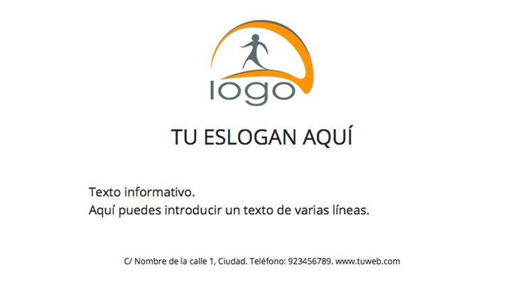 Plantilla anuncio Local