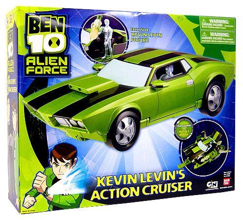 Ben 10 Kevin Levin's Action Cruiser Rc Car