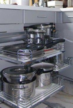 Kücheneckschrank - Optimale Stauraumnutzung