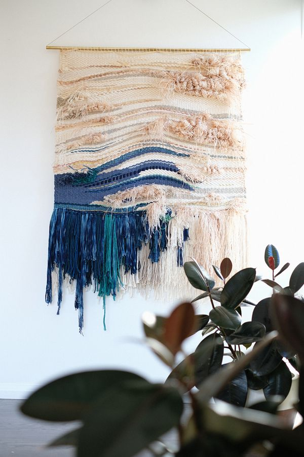 natalie jones contemporary art and design woven artwork umi no nami