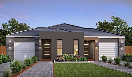 Our Duo Part Render Grace Facade. Visit our website for more information on our range of options for your new home.