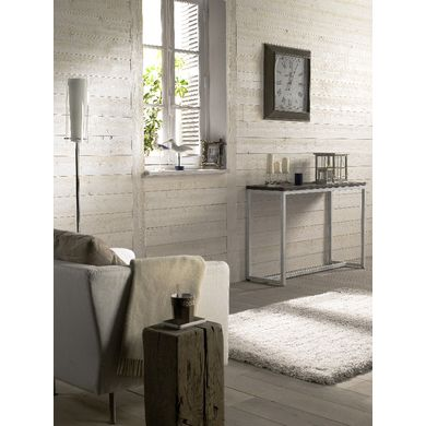 Lambris Anglet sapin blanc brut de sciage - Sols & murs