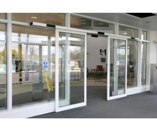 automatic sliding door system