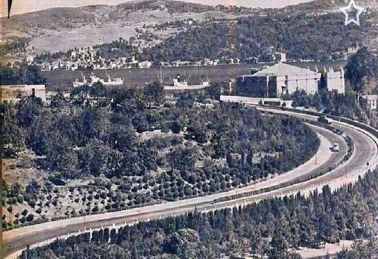 Maçka-Dolmabahçe yolu Bayıldım Yoluşu, Istanbul,Turkey