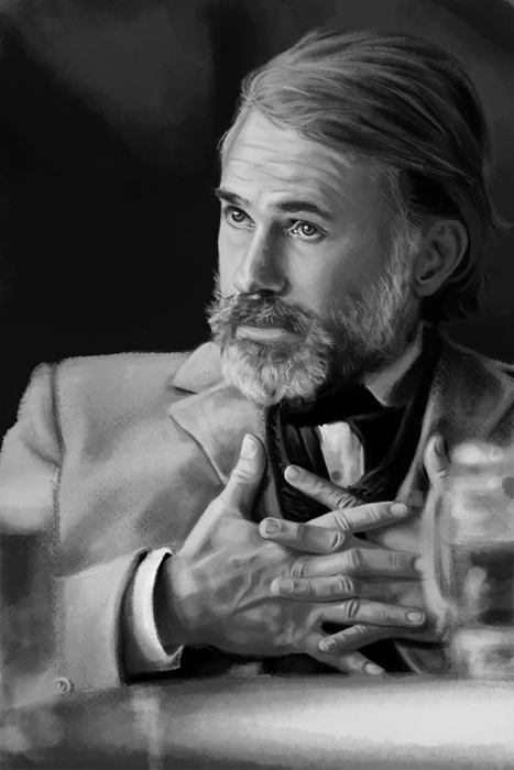 Christopher Waltz as Dr. King Shultz. Django Unchained.