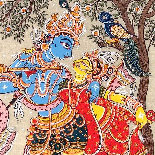 lord krishna and radha paintings