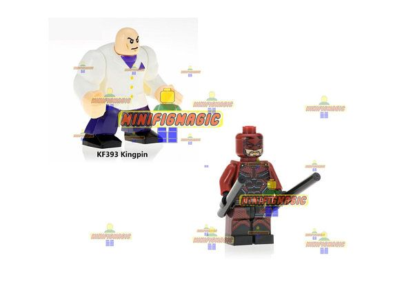 Lego 3 Boy Male Minifigure Figure Great Birthday Party Bag Filler