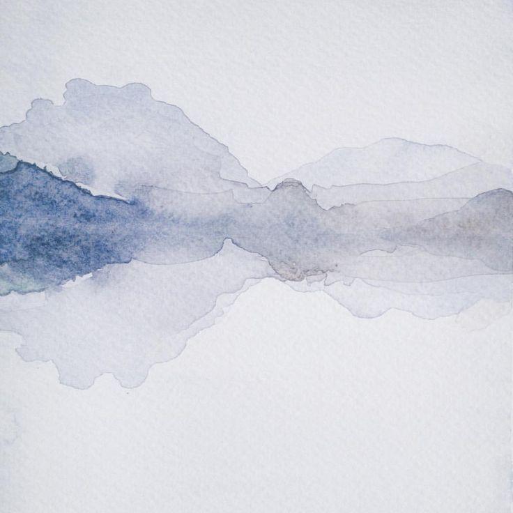 Instagram @kimartinsartist  || Number 3 || 15cmx19,5cm watercolor ink in watercolor paper with 300g/m2 #watercolor #painting #art #abstract #decoration #wall #kimartinsartist #color