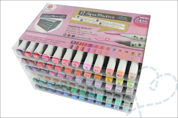 Budgettip En Mini Review Action Decotime Aquamarkers Stift