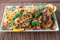 Most of the East Asian and South East Asian countries have their own version of the stir fried #noodle dish and this is how we do it in the Philippines