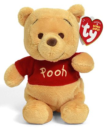 Proud owner of this Winnie the Pooh - bear - Ty Beanie Babies