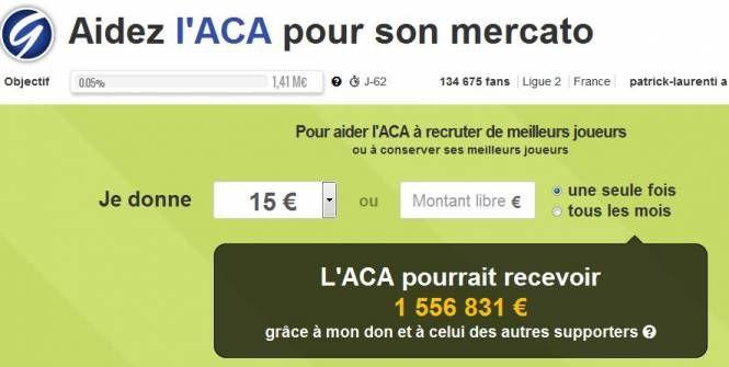 Foot - Eco - Mercato : offrez un joueur à Ajaccio grâce au financement participatif