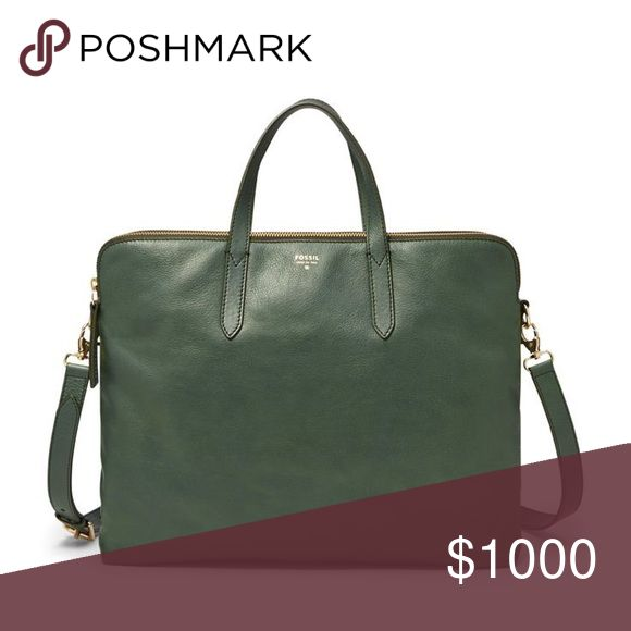 ISO!!! Green fossil work bag!! I have been looking for this bag forever!!! Please help me find it!! Fossil Bags Laptop Bags