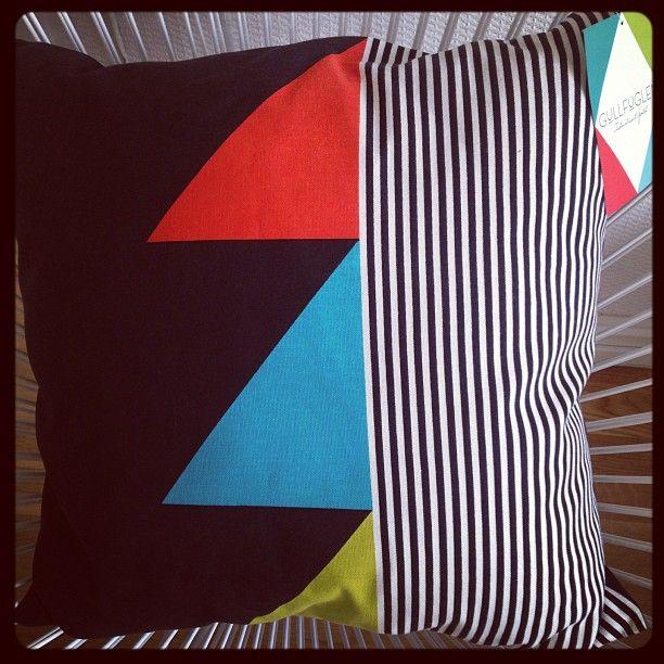 Fabrikken cushion at home @Agustin Navarro Serrano #funkle