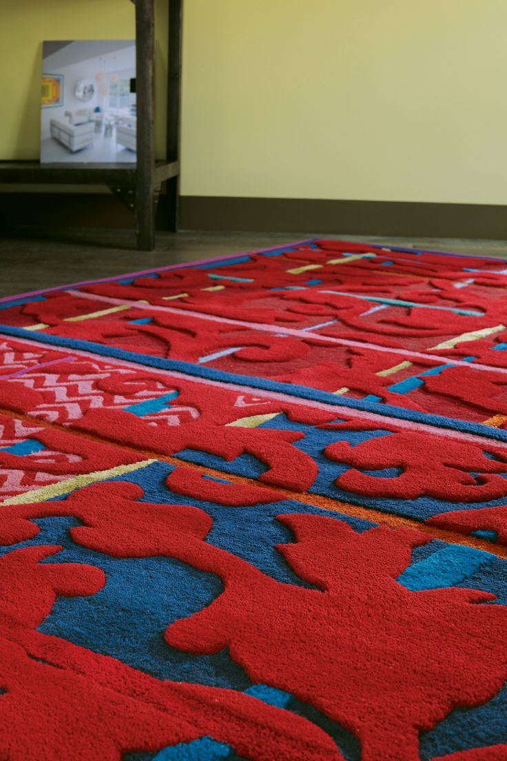 18 best toulemonde bochart images on pinterest carpets florence for the ispahan rug florence bourel plays with codes and persian inspirations in a searched pattern baanklon Choice Image