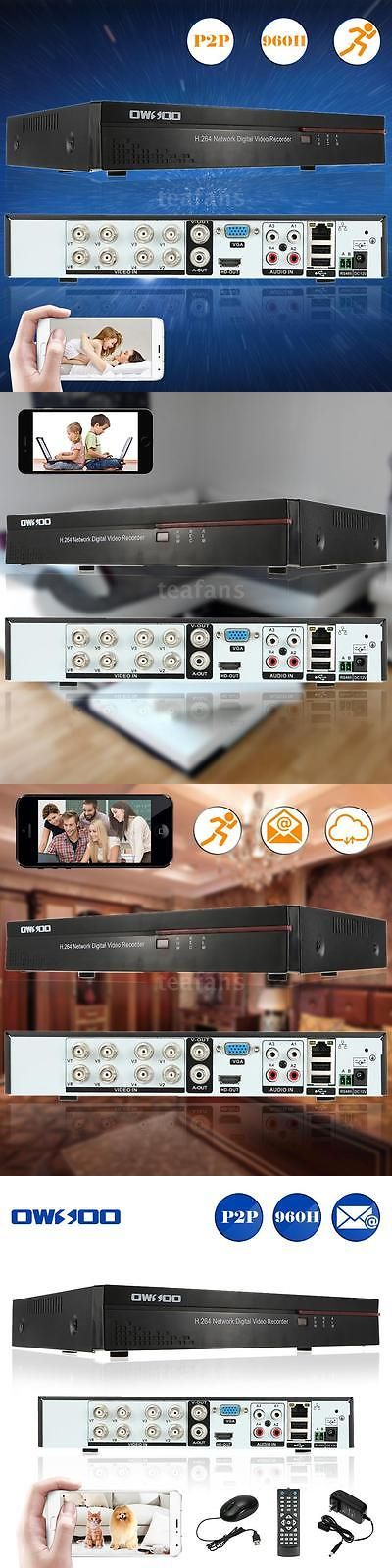 Digital Video Recorders Cards: Network 8Ch 960H Cctv Security Dvr Phone Control For Surveillance Camera Us G9i7 BUY IT NOW ONLY: $34.93