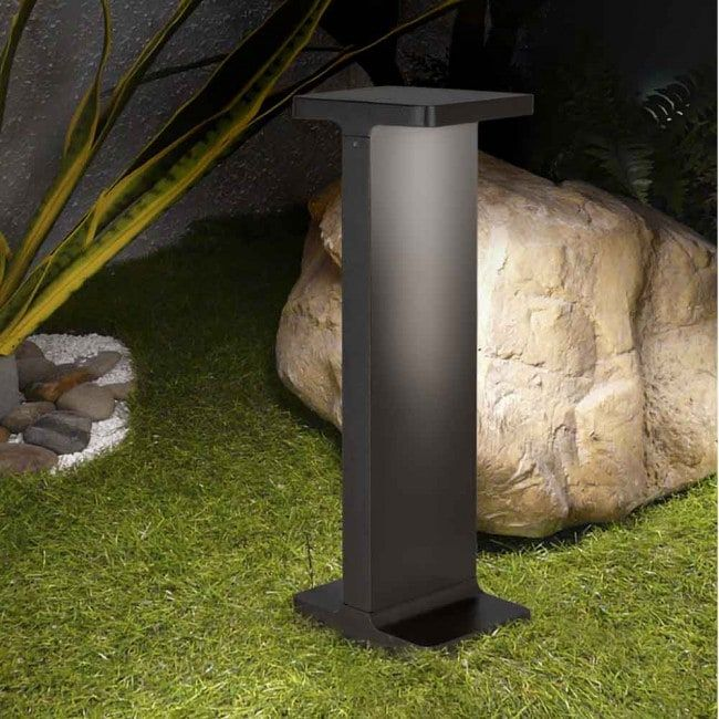 Led Bollard Light Outdoor Terral 6w By Faro Barcelona Ip 65 40 Cm Of High Modern And Practical Outdoor Lighting Outdoor Sconces Led Outdoor Wall Lights