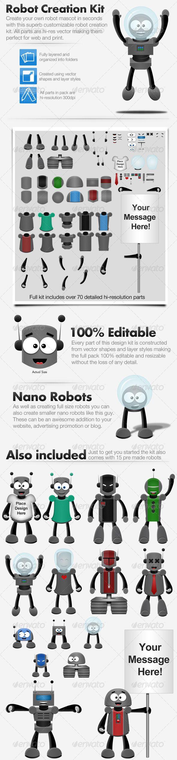 Best 25 Create Your Own Robot Ideas On Pinterest Build