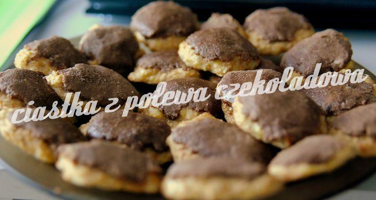 alpacasquare - zaburzenia hormonalne & zdrowe odżywianie: Ciastka z polewą czekoladową